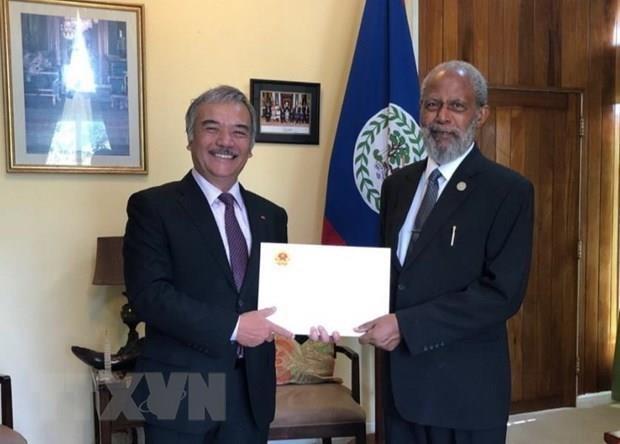 Pour un developpement durable entre le Vietnam et le Belize hinh anh 1