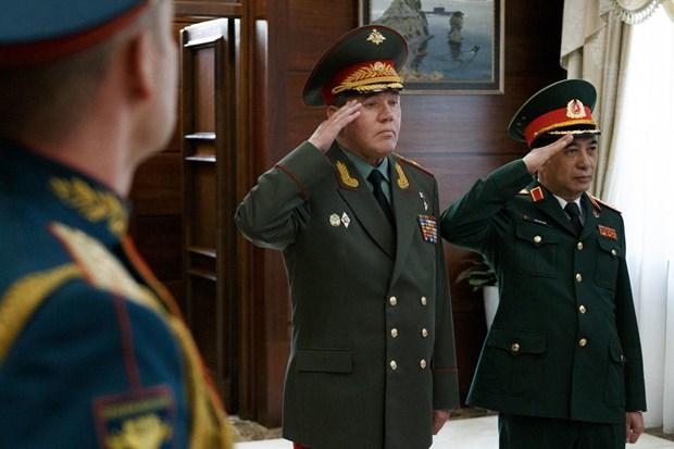 La Russie et le Vietnam renforcent leur cooperation en matiere de defense hinh anh 1