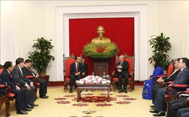 Vietnam et le Laos forgent une cooperation en matiere d'inspection hinh anh 1