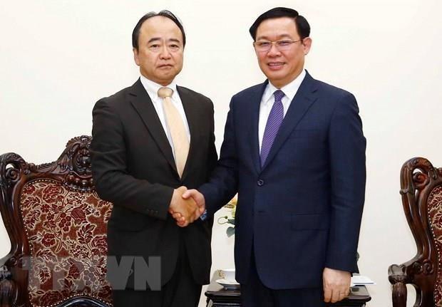 Le vice-PM Vuong Dinh Hue salue les decisions d'investissement d'AEON au Vietnam hinh anh 1
