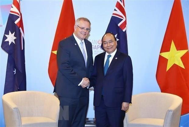 Le Premier ministre australien attendu Vietnam hinh anh 1