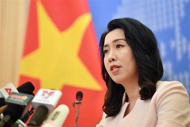 Le Vietnam demande a la Chine de retirer des navires des eaux vietnamiennes hinh anh 1