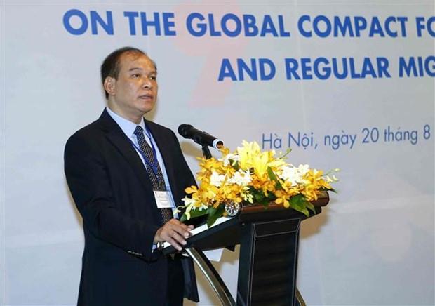 Le Vietnam adhere aux principes pour renforcer la migration legale hinh anh 1