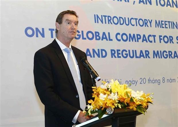 Le Vietnam adhere aux principes pour renforcer la migration legale hinh anh 2