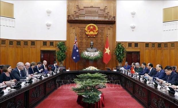 Le Vietnam et l'Australie visent 10 mds de dollars d'echanges en 2020 hinh anh 2