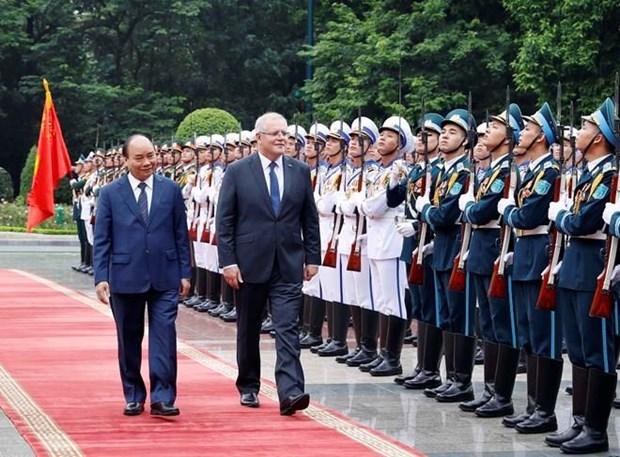 Declaration commune Vietnam - Australie hinh anh 1