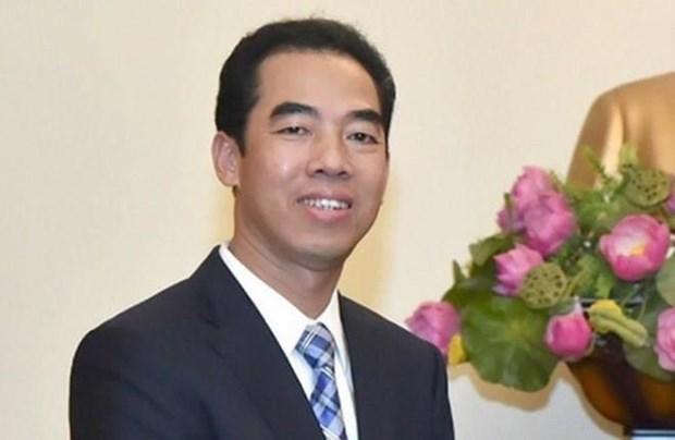 Une delegation vietnamienne en visite au Vatican hinh anh 1
