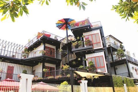 Des conteneurs pour loger les touristes a Quang Ninh hinh anh 1