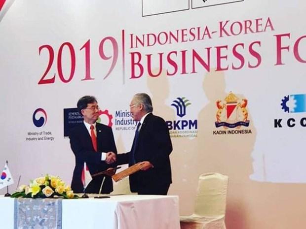 La Republique de Coree et l'Indonesie discutent du libre-echange hinh anh 1
