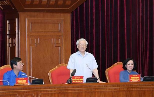 Le leader du Parti exhorte la jeunesse a suivre la moralite Ho Chi Minh hinh anh 1