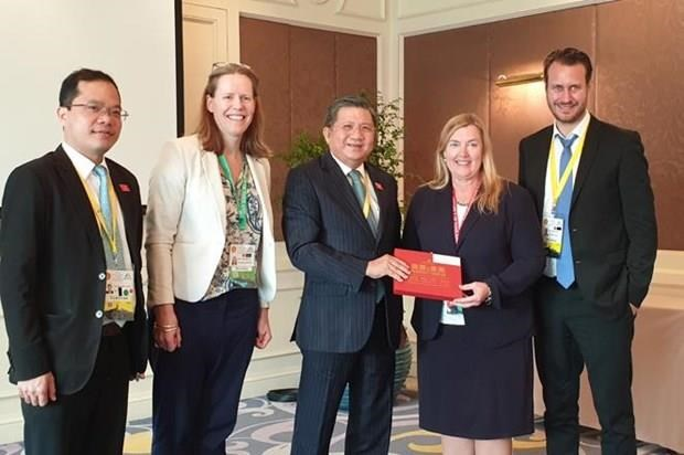 AIPA 40 : Vietnam et Thailande discutent de la cooperation bilaterale hinh anh 1