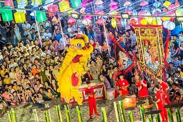 Da Nang: 30 equipes au Festival international de danse du lion hinh anh 1