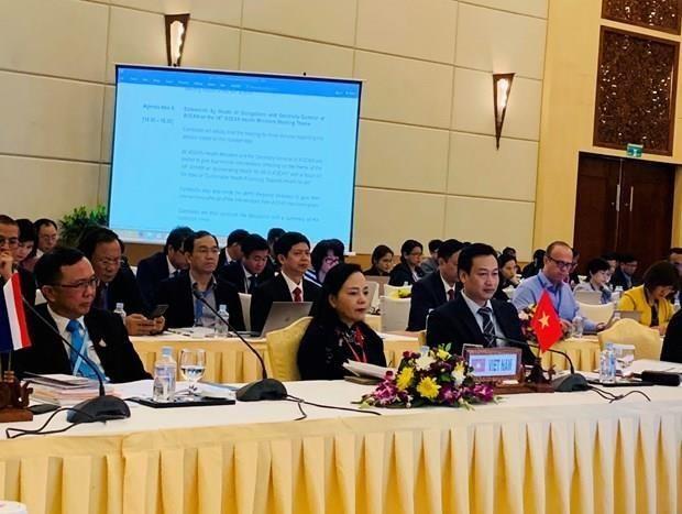 Le Vietnam participe a la 14e reunion des ministres de la Sante de l'ASEAN hinh anh 1