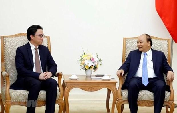 Le Premier ministre recoit l'ambassadeur cambodgien sortant hinh anh 1