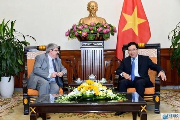 Le Vietnam et l'Uruguay tiennent leur consultation politique hinh anh 1