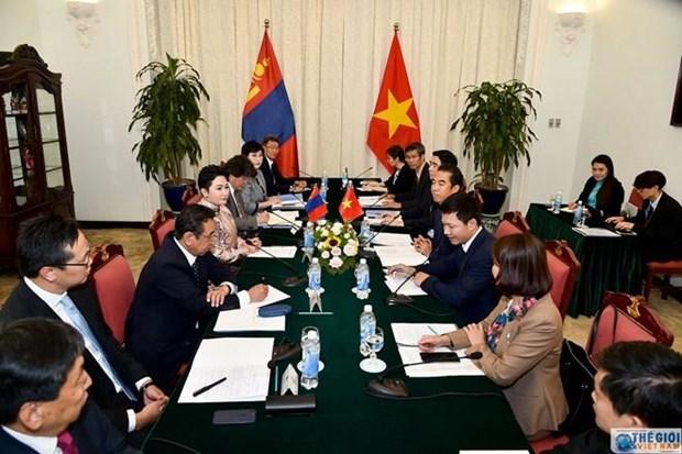 Le Vietnam et la Mongolie tiennent leur 8e consultation politique hinh anh 1