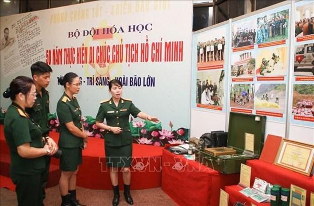 Les 50 ans du Testament du President Ho Chi Minh a l'affiche hinh anh 1