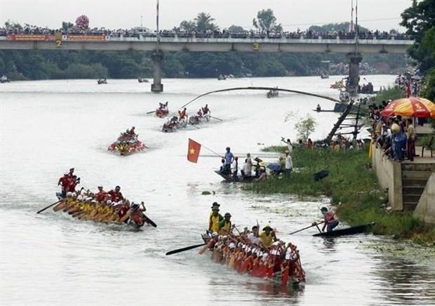 Des festivals de Quang Binh recoivent des titres du patrimoine national hinh anh 1
