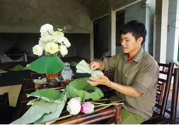 Le Son Hai et sa marque de the organique hinh anh 1