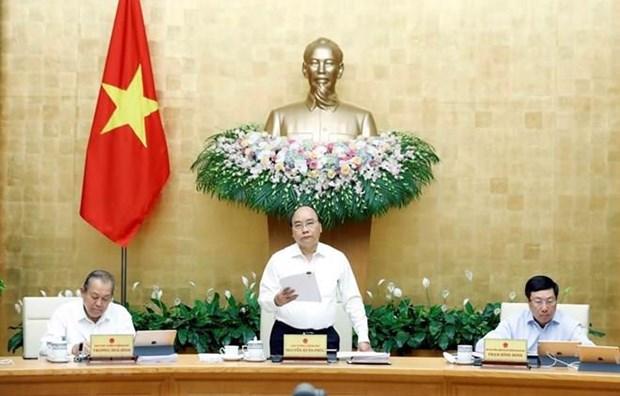 Le PM demande d'accelerer la reforme institutionnelle pour stimuler la croissance hinh anh 1