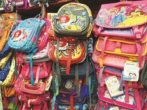 Fournitures scolaires: le