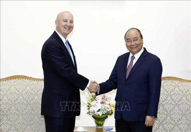 Le Vietnam considere les Etats-Unis comme l'un de ses partenaires importants hinh anh 1