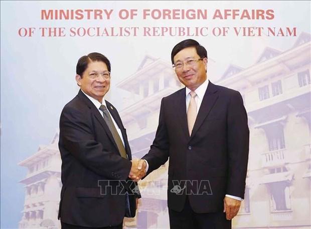 Le Nicaragua attache de l'importance aux relations avec le Vietnam hinh anh 1