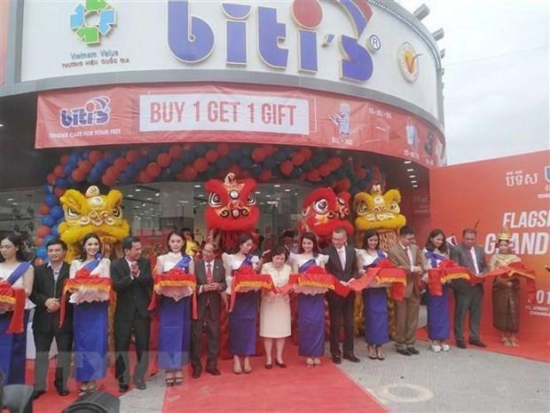 Le vietnamien Biti's ouvre son premier magasin au Cambodge hinh anh 1