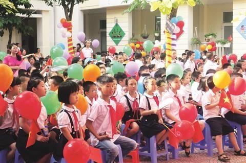 Vietnam: Une rentree scolaire sous le signe de l'ecologie hinh anh 1