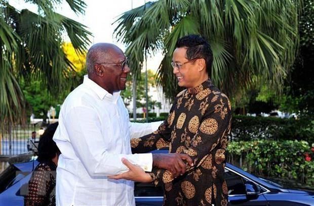 Le dirigeant cubain souhaite plus de succes au Vietnam hinh anh 1
