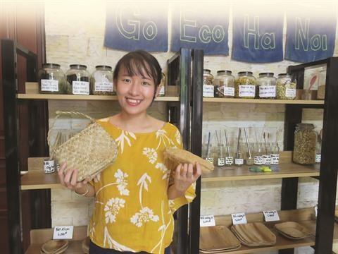 A Hanoi, un premier magasin prend la releve du zero dechet hinh anh 4