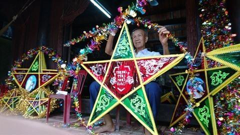L'art des lanternes etoilees a Bao Dap hinh anh 1