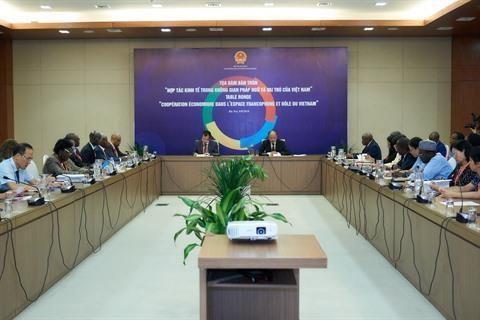 Renforcer les echanges economiques dans l'espace francophone hinh anh 1