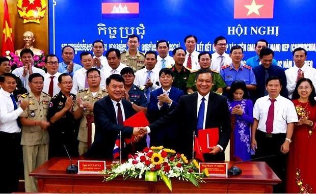 Kien Giang renforce ses liens avec la province cambodgienne de Kep hinh anh 1