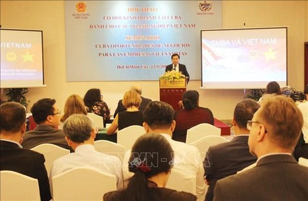 Vietnam et Cuba accelerent la cooperation d'investissement et de commerce hinh anh 1