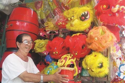 Fete de la mi-automne: vitalite des jouets traditionnels hinh anh 1