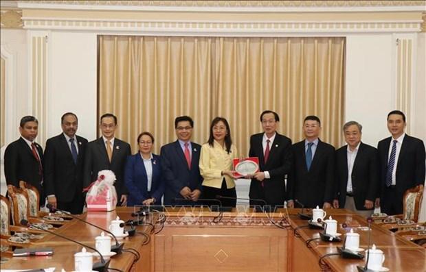 Promotion de la cooperation entre la megapole du Sud et la Malaisie hinh anh 1
