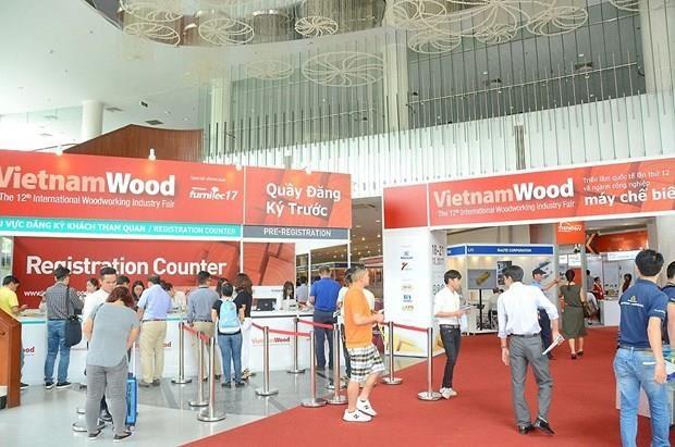 La 13e Foire internationale de l'industrie du bois s'ouvrira a Ho Chi Minh-Ville hinh anh 1