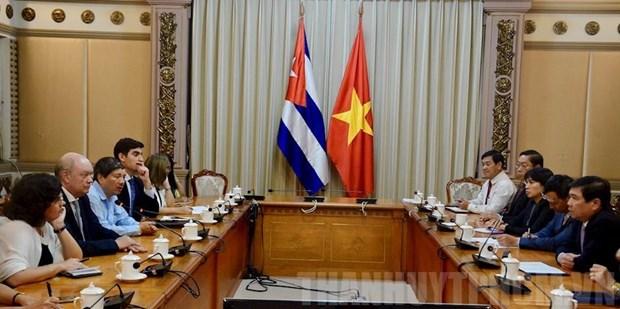 Ho Chi Minh-Ville promeut sa cooperation d'investissement avec Cuba hinh anh 1