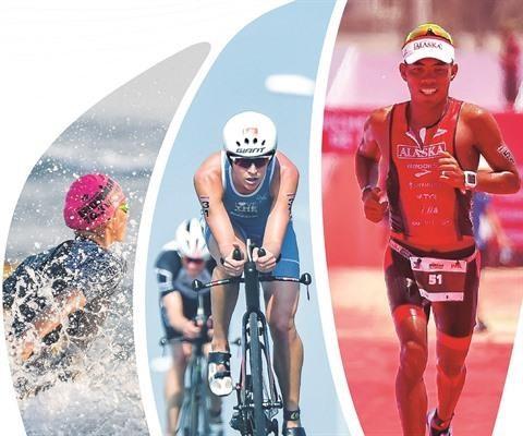 Des triathletes vietnamiens aux SEA Games 30 hinh anh 1
