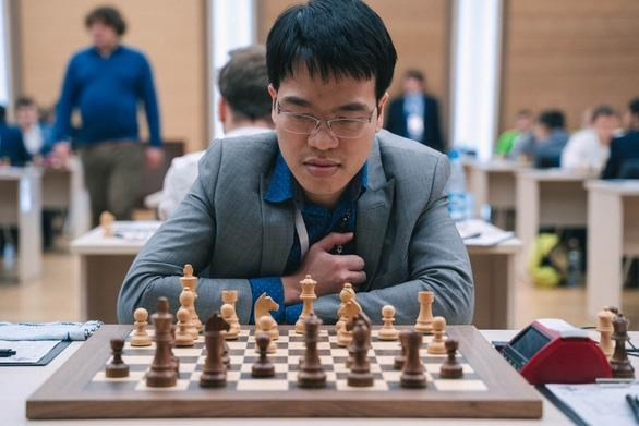 Coupe du monde FIDE: Le Quang Liem pousse ses pions hinh anh 1