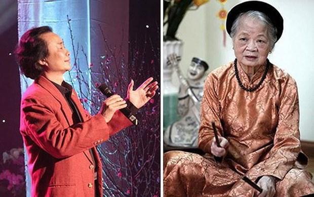 Quatre artistes de la Voix du Vietnam mis a l'honneur hinh anh 1