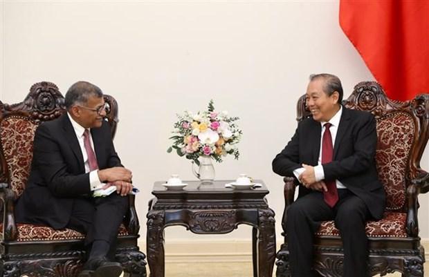 Le partenariat strategique Vietnam-Singapour au beau fixe hinh anh 1