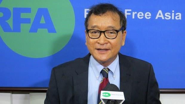 Un tribunal cambodgien ordonne l'arrestation d'un chef de l'opposition en exil hinh anh 1