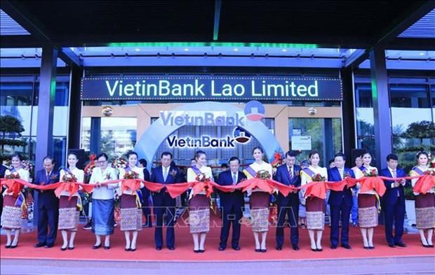 VietinBank inaugure son siege a Vientiane au Laos hinh anh 1