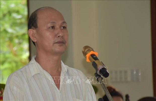 Un homme condamne pour propagande contre l'Etat hinh anh 1