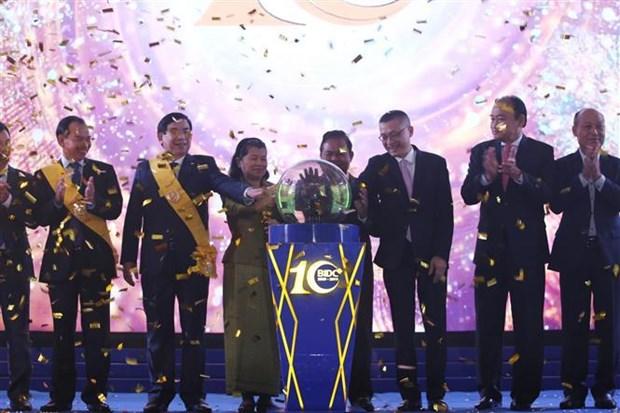 Cambodge: La vice-PM Men Sam An apprecie les contributions de BIDV/BIDC hinh anh 2