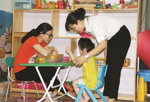 Hoa Sao, un toit pour les autistes dans la province de Quang Ninh hinh anh 1