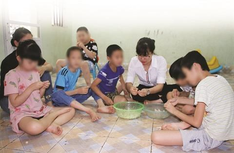 Hoa Sao, un toit pour les autistes dans la province de Quang Ninh hinh anh 2