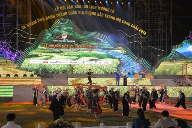 Yen Bai fete sa culture et fait decouvrir ses rizieres en terrasse hinh anh 1